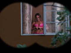 Rachele Richey mit Monstertitten liebt Gangbang mit DP und Bukakke