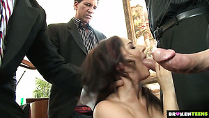 Sheena Ryder erlebt hardcore gangbang session